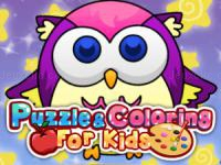Jeu mobile Puzzle coloring for kids