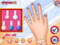 Jeu mobile My back to school nails design