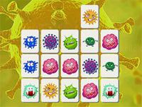 Jeu mobile Virus mahjong connect